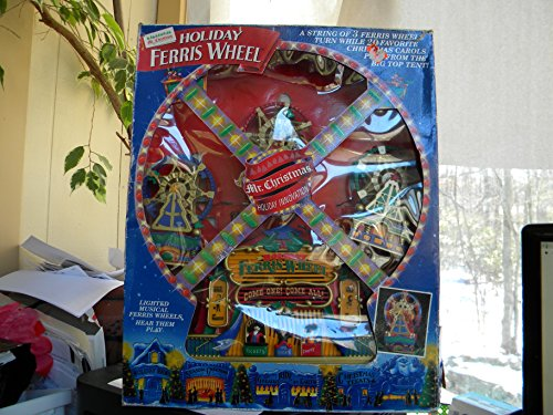 Worlds Fair Ferris Wheel - 1994 MR. CHRISTMAS LIGHTED MUSICAL