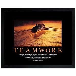 Amazon Com Successories Teamwork Rowers Motivational