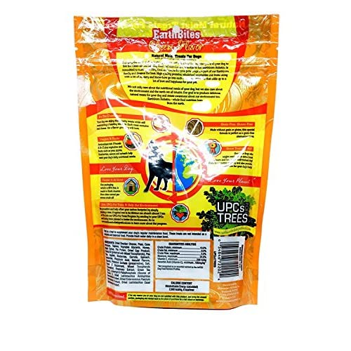 80%OFF Earthborn Holistic EarthBites Grain-Free Natural Moist Dog Treats in 3 Flavors - Peanut Butter, Chicken, and Cheese - 3 Bags Total, 7.5 Oz each - Plus 9-inch Gripstic Bag Sealing Rod - 4 Items Total
