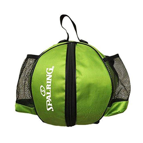 George Jimmy Fashion Cool Basketball Bag Training Bag Single-shoulder Soccer Bag-Green by George Jimmy