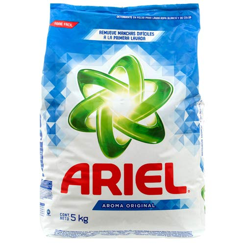- New 310389 Ariel Powder Detergent 5 Kg Oxianillo (4-Pack) Laundry Detergent Cheap Wholesale Discount Bulk Cleaning Laundry Detergent Fashion Accessories