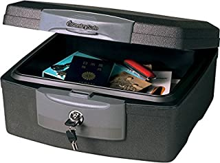 SentrySafe F2300 Fire-Safe Waterproof Chest with Tubular Key, 33lbs.36 Cu. Ft, Charcoal (B00006IBHM) | Amazon price tracker / tracking, Amazon price history charts, Amazon price watches, Amazon price drop alerts