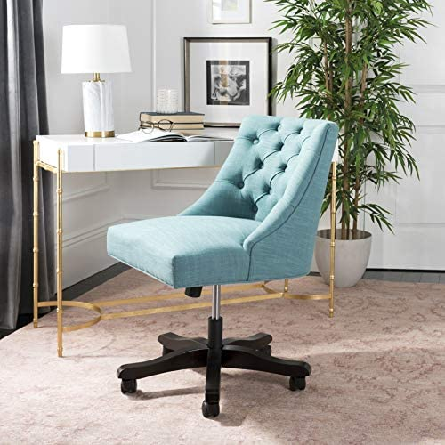 Safavieh Soho Desk Chair, Light Blue, Light Blue