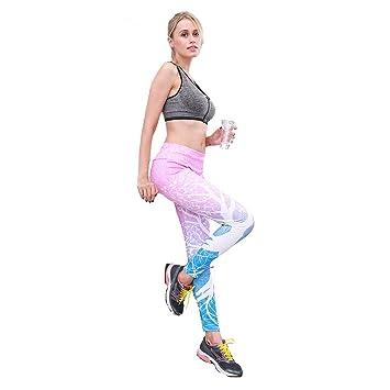 XSQR Leggings Deportivos para Mujer Impresión Digital Color ...