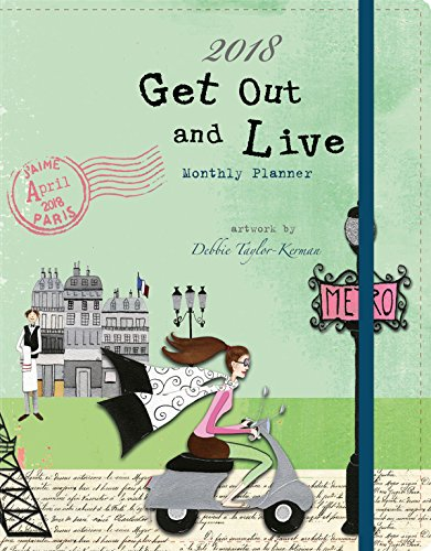 The LANG Companies WSBL Get Out And Live 2018 Monthly Planner (18997050010)