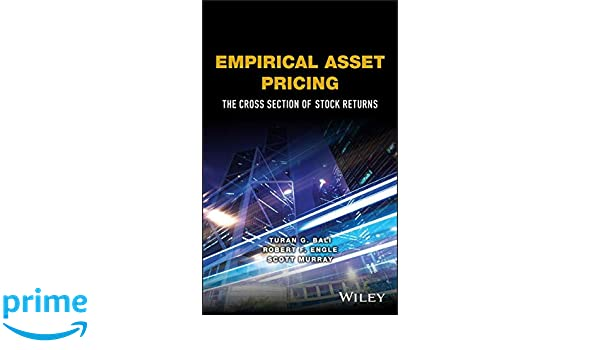 Empirical Asset Pricing: The Cross Section of Stock Returns Wiley Series in Probability and Statistics: Amazon.es: Turan G. Bali, Robert F. Engle, ...