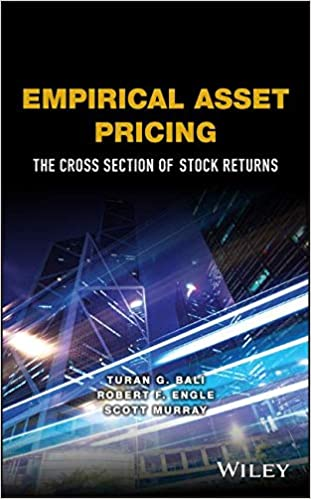 Empirical Asset Pricing: The Cross Section of Stock Returns (Wiley Series in Probability and Statistics) (Inglés) Tapa dura – 18 mar 2016