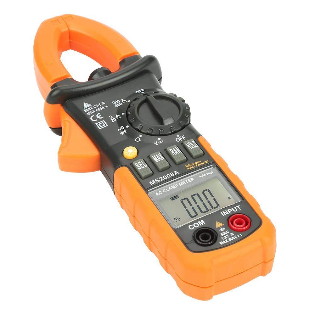 Business & Industrial Clamp Meters dbc2.com.au MS2008A Digital ...