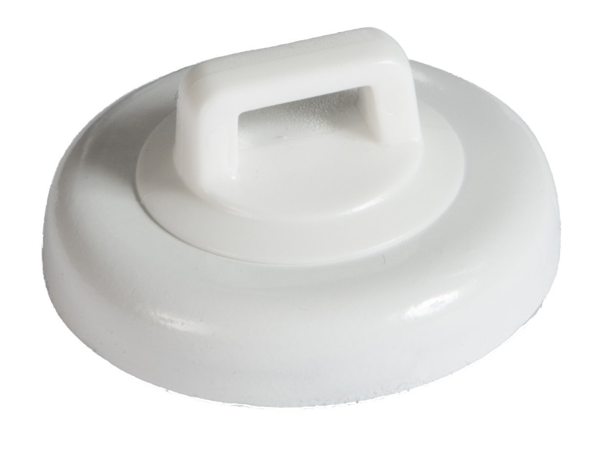 Mag Daddy Magnetic Cable Tie Mount - Large - White