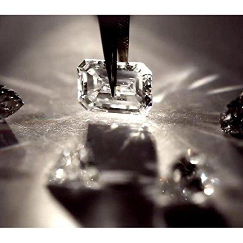 Boucles d'oreilles recarlo e02co341Eternity or blanc diamant