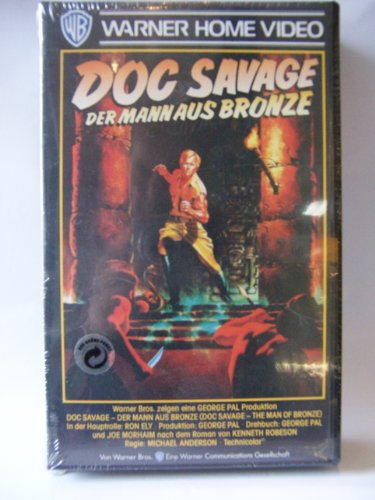 Doc Savage  The Man Of Bronze  Vhs