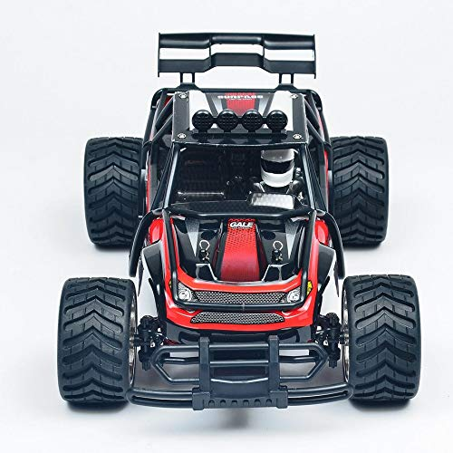 KNOSSOS Mini Remote Control Racing Car Wireless RC Drift Car off-Road Vehicle Model(Red)