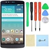 Arteke LG G3 LCD Display Touch Screen Digitizer With Frame Full Assembly (Gray Color)