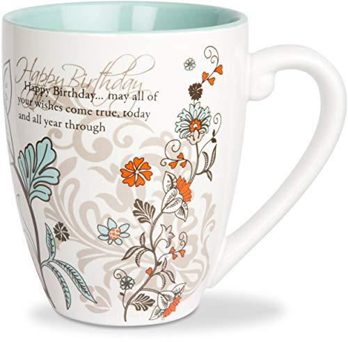 Birthday Mug - Mark My Words Happy Birthday Mug, 4-3/4-Inch, 20-Ounce Capacity