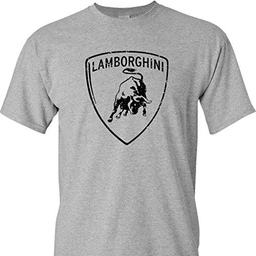 lamborghini-logo-distressed-vintage-print-on-a-sports-grey-t-shirt