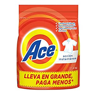 Ace Acción Instantánea Detergente En Polvo 4 Kg
