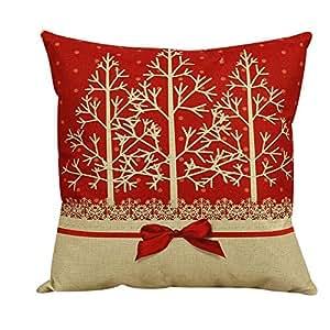 argento Dubai Christmas Vintage Pillow Printed Cushion Cover 45 x 45 cm