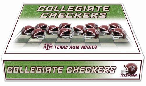 NCAA Texas A&M Aggies Miniature Helmets Checker Set