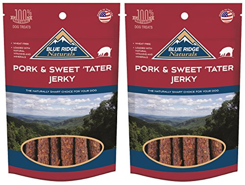 ((2 Pack) Blue Ridge Naturals Pork and Sweet Potato Jerky - 12 oz)