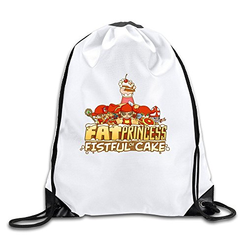 fat-princess-online-battle-game-handbags-drawstring-travel-sports-backpack-summer-bags