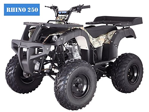 250 Cc Quad Bike - BRAND New Adult Size ATV with standard manual clutch and BIG TIRES with REVERSE
