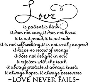 Love does not boast song