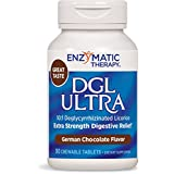 Enzymatic Therapy DGL Ultra Chocolate 90 Chewable Tabs