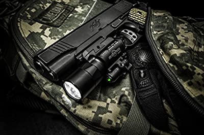SureFire X400 Ultra Series LED WeaponLights w/ Built-in Laser Sight, TIR Lens