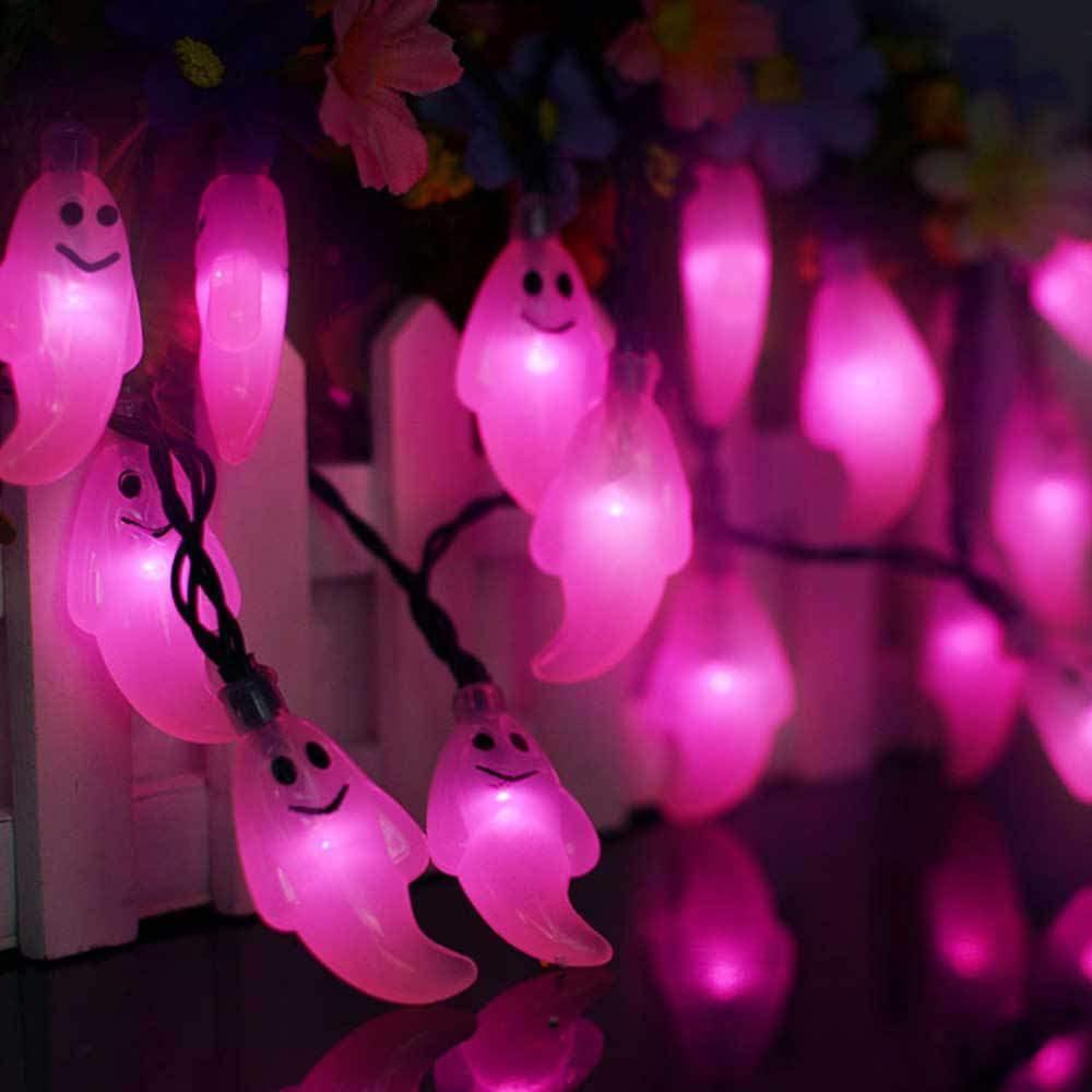 30 Led Solar Lichterkette Gartenleuchten Dämmerungssensor Automatische Aufladbar Hausgarten Bar Leiste Deko Outdoor Wasserdicht Weihnachten Weihnachtsbaum Hochzeit Party Dekoratives Nachtlicht Pinkes Licht