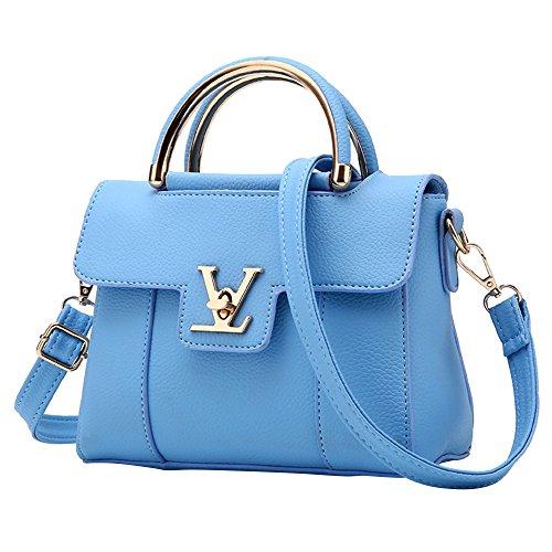 CocoMarket Women Handbag Messenger Ladies PU Leather Bag Shoulder Bags Fashion Cross Bag Travel Shopping Satchel