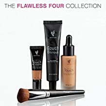 Concealer and Foundation with a Brush
