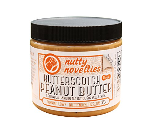 erscotch Peanut Butter - High Protein, Low Sugar Healthy Peanut Butter - All-Natural Peanut Butter Free of Cholesterol, Preservatives & Salt - Creamy Peanut Butter - 15 Ounces ()