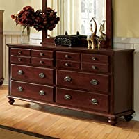 247SHOPATHOME Idf-7083D Drawers, chest, Cherry