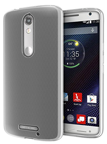 DROID Turbo 2 Case, Cimo [Matte] Premium Slim Fit Flexible TPU Case for Motorola Verizon DROID Turbo 2 / Moto X Force (2015) - Smoke