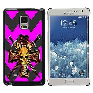 - Devil Cross Chevron Pattern - - Fashion Dream Catcher Design Hard Plastic Protective Case Cover FOR Samsung Galaxy Mega 5.8 Retro Candy