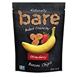 bare Snacks Baked Strawberry Banana Chips, 2.7oz bag