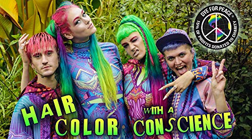 Manic Panic Alien Grey Hair Color Cream – Classic High Voltage - Semi-Permanent Hair Dye - Vivid, Slate Grey Shade - For Dark, Light Hair – Vegan, PPD & Ammonia-Free - Ready-to-Use, No-Mix Coloring
