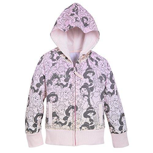 Disney Princess Hoodie for Girls - Size 5/6 Pink by Disney