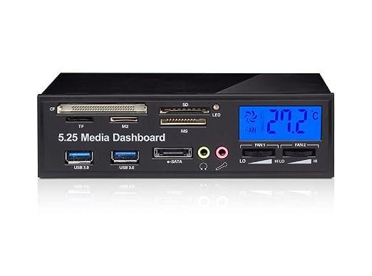 """40 opinioni per Ronsen 525F- Pannello Multimediale Multifunzionale 5.25"""" con Schermo LCD,"""
