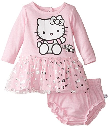 Hello Kitty Baby Girls' Dress, Sugar Plum, 6 (Sugar Plum Dress)