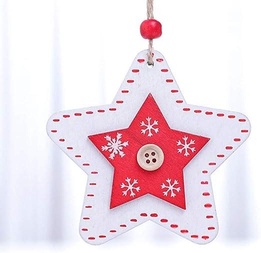 LIUQIAN Decoraciones navideñas, Colgantes Decorativos de Bricolaje ...
