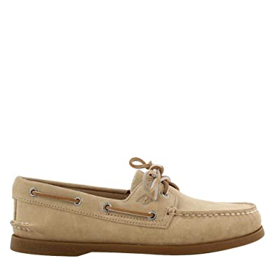 f0483b06ba7 Sperry Top-Sider Sperry Authentic Original Suede Boat Shoe Men 10 Sand