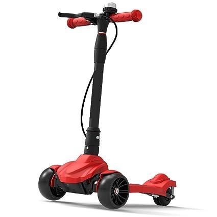 Patinetes Scooter Rojo con Freno de Mano / 50 mm. Ruedas ...