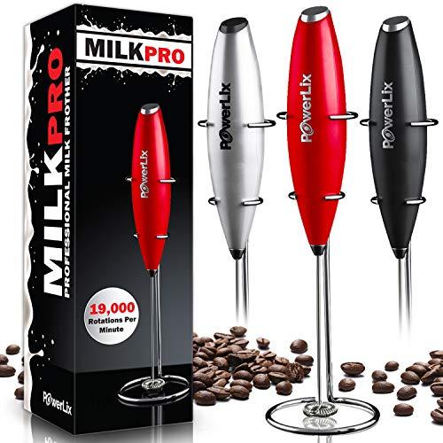 PowerLix Milk Frother Handheld