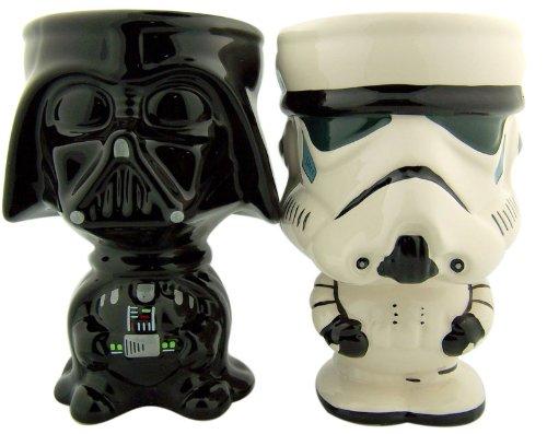 Star Wars Movie Lovers Gift Set Darth Vader with Stormtrooper Cup 10oz Drink Goblet