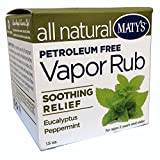 Matys All Natural Vapor Rub, 1.5 Ounce