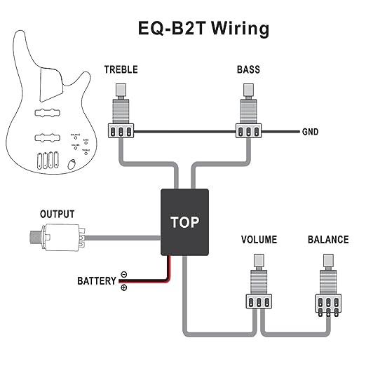 amazon com 1pkg belcat eq b2t 2 band active eq preamp circuit for amazon com 1pkg belcat eq b2t 2 band active eq preamp circuit for bass guitar output jack musical instruments