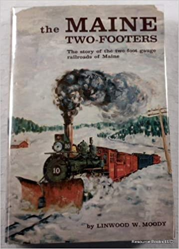 Maine 2 Footer Print Billerica and Bedford Locomotive Puck signed and numbered.