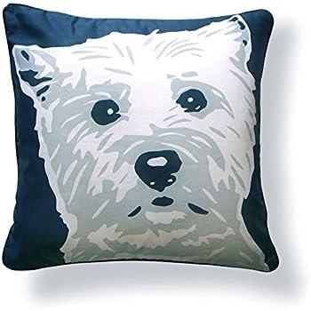 Amazon.com: Naked Decoración Pomeranian Pillow, color gris ...