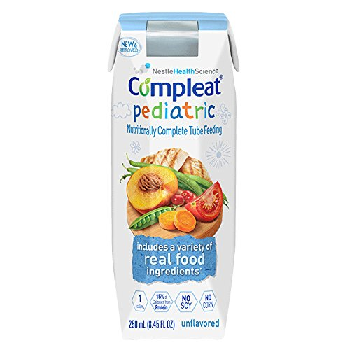Compleat Pediatric Unflavored 1 cal 8.45fl (1 case of 24)